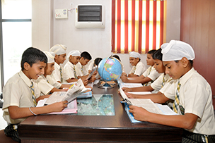 Library to inculcate reading habit